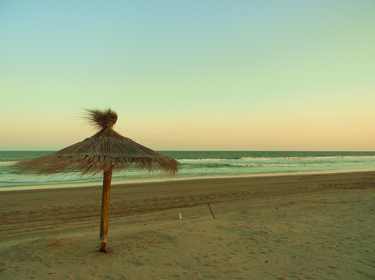 The beach at Villa Gesell