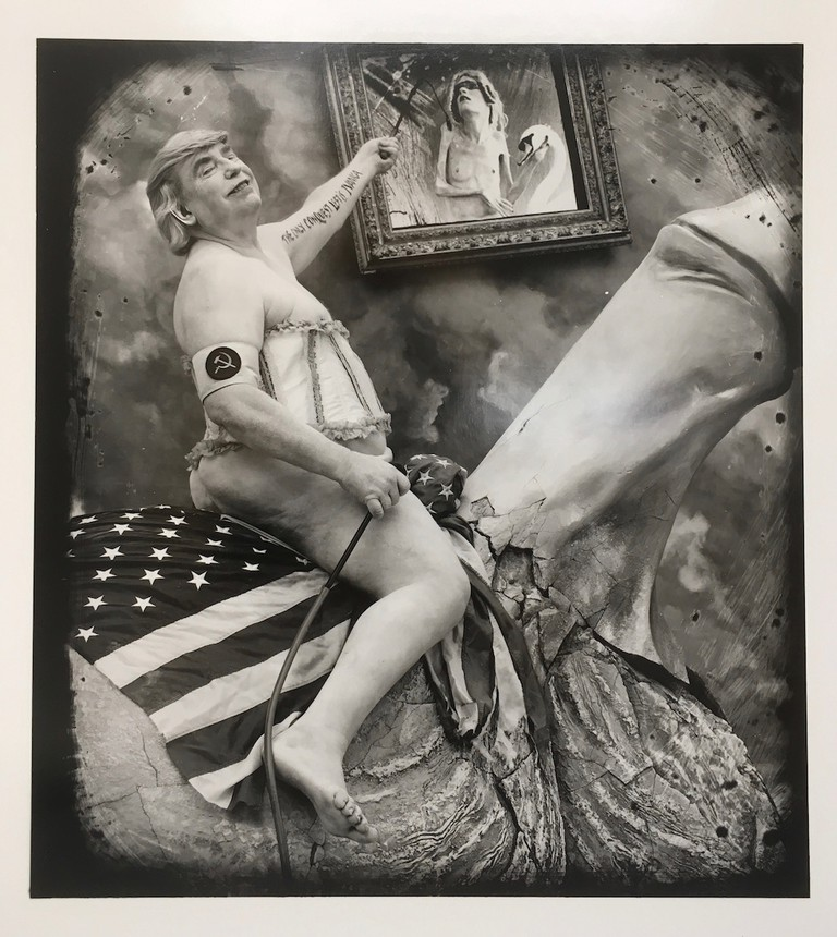 Joel-Peter Witkin, The Great Masturbator And The Country He Rode In On, 2017 | Courtesy of the artist