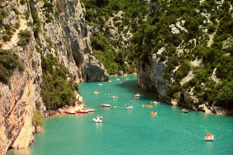 Kayaking in Ardèche │© Free-Photos / Pixabay