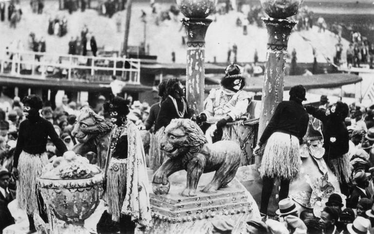 King of Zulu, New Orleans Mardi Gras, 1936 | © Works Progress Administration/Wikimedia Commons