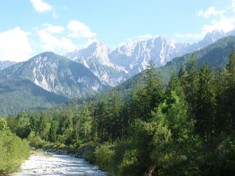 Kranjska Gora surroundings│