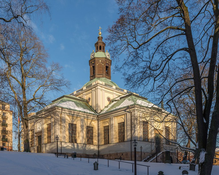 Enjoy a free concert at one of Stockholm's beautiful churches / Photo courtesy of Wikipedia Commons