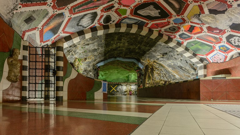 Explore the world's longest art gallery