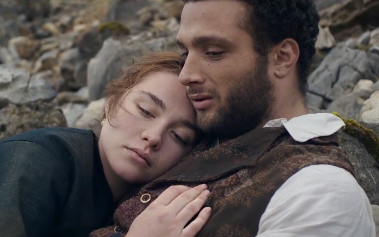 Lovers: Florence Pugh and Cosmo Jarvis in 'Lady Macbeth' | © Roadside Attractions