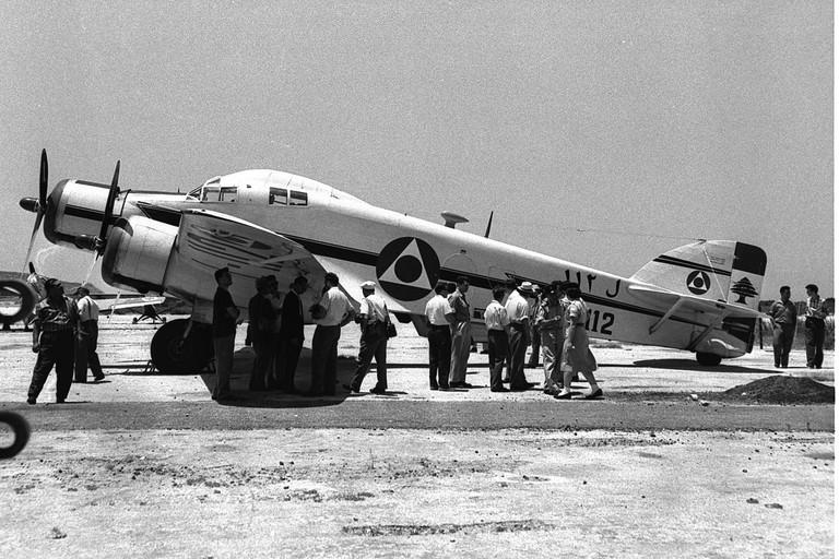 Historical Lebanese Air Force jet