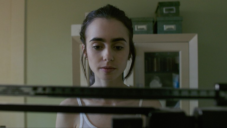 Life on the scales: Lily Collins in To the Bone