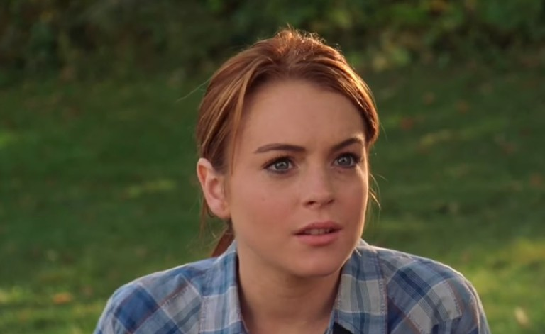 Lindsay Lohan in Mean Girls (2004) | Courtesy of Paramount Pictures / Screen capture