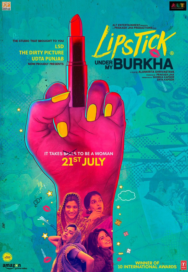 Lipstick Under My Burkha new poster