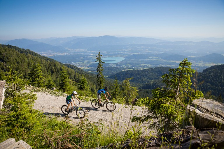 Biking remains a popular pastime in Austria