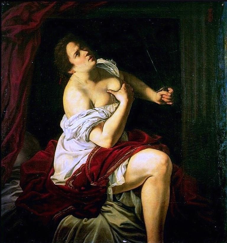 Lucrezia by Artemisia Gentileschi