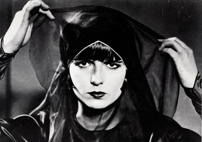 Louise Brooks as Lulu in the courtroom scene in Pandora's Box (1929)