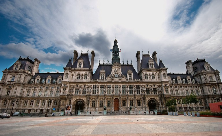 Mairie de Paris │© I, Luc Viatour / Wikimedia Commons