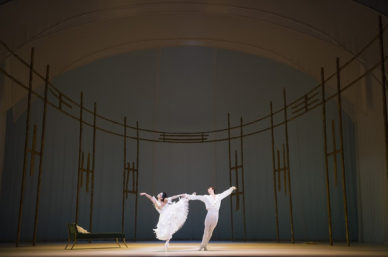 'Marguerite and Armand' with Tamara Rojo and Sergei Polunin, at The Royal Ballet, Royal Opera House