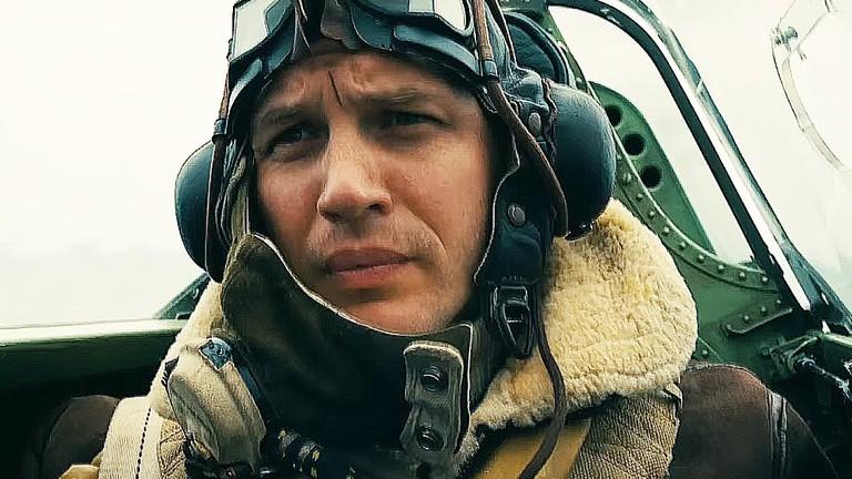 Tom Hardy as Farrier in Dunkirk