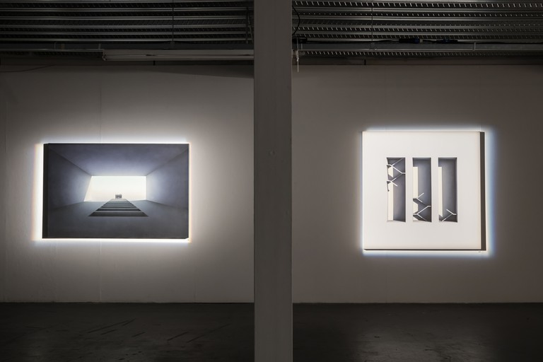 Mehdi Ghdyanloo, Spaces Of Hope exhibition | Courtesy Howard Griffin Gallery