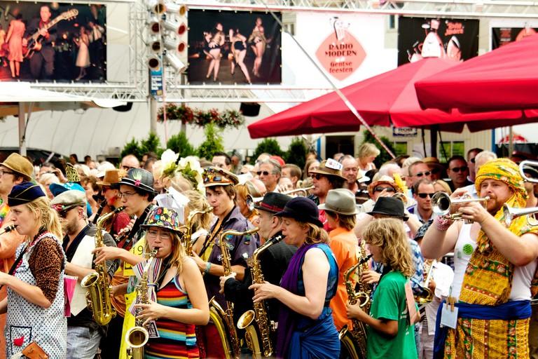 Musical merriment at the Ghent festivities   © Stijn Debrouwere / Flickr