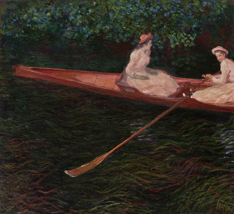Boating on the River Apte, Claude Monet