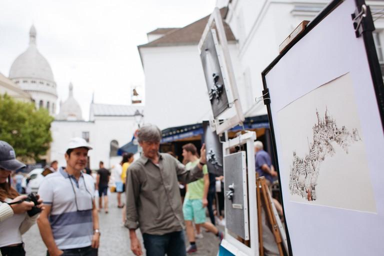 Montmartre artists place │Caroline Peyronel/© Culture Trip