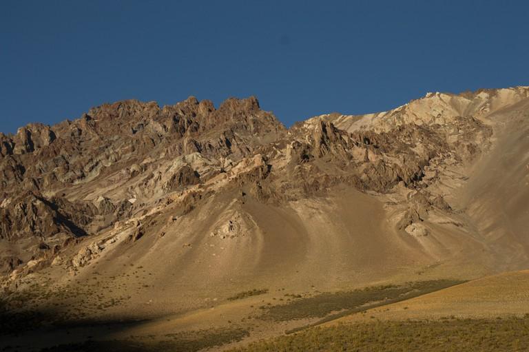 Lunar plains and volcanic landscapes