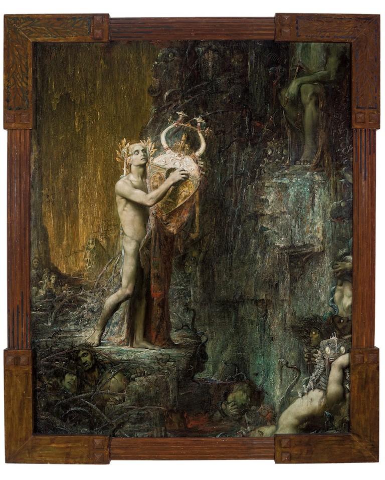 Pierre Amédée Marcel- Béronneau, Orpheus in Hades (Orphée), 1897. Musée des Beaux-Arts, Marseille | © Claude Almodovar/Collection du Musée des Beaux-Arts, Marseille.