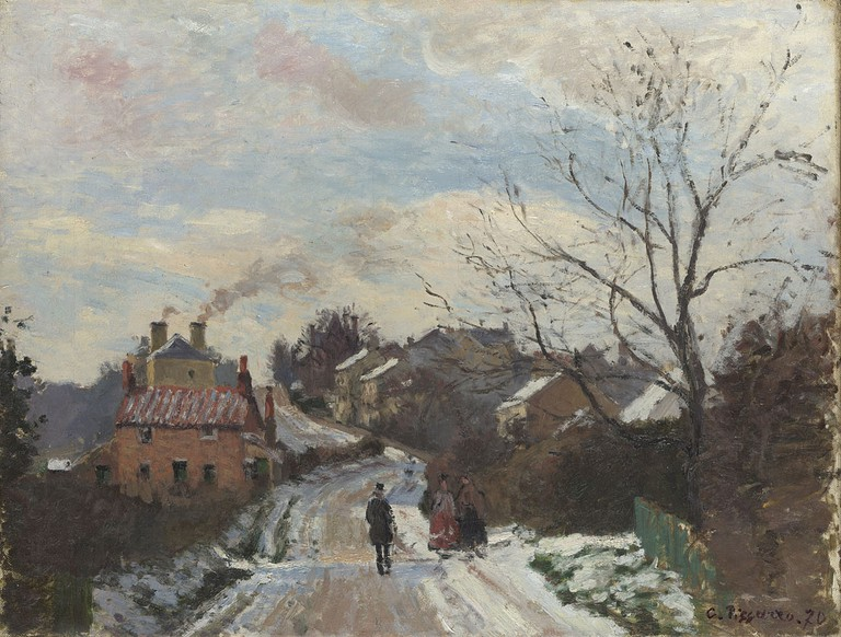 Camille Pissarro, Fox Hill, Upper Norwood, 1870, The National Gallery