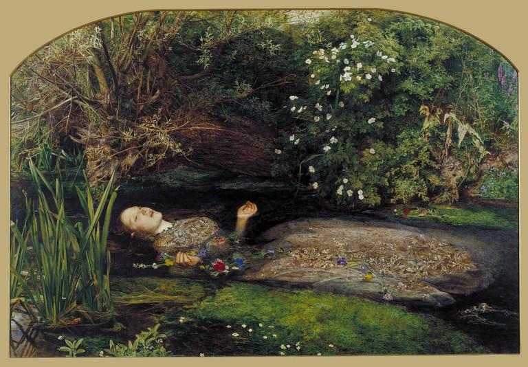 Sir John Everett Millais, Ophelia, 1851-2