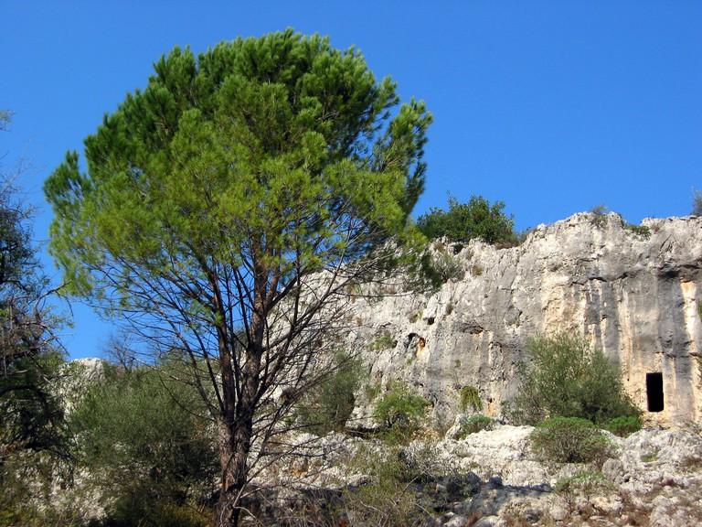 Necropolis of Pantalica, Sicily, Italy©Neil Weightman:Flickr
