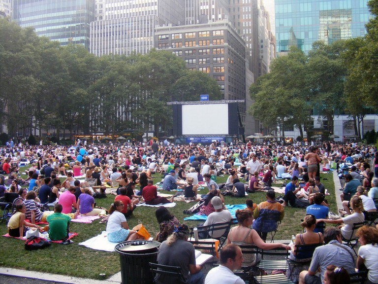 NYC Movie in the park l André Natta/Flickr