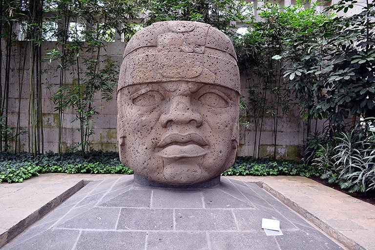 The mystery behind mexicos colossal olmec heads olmec head number 1 san lorenzo publicscrutiny Images
