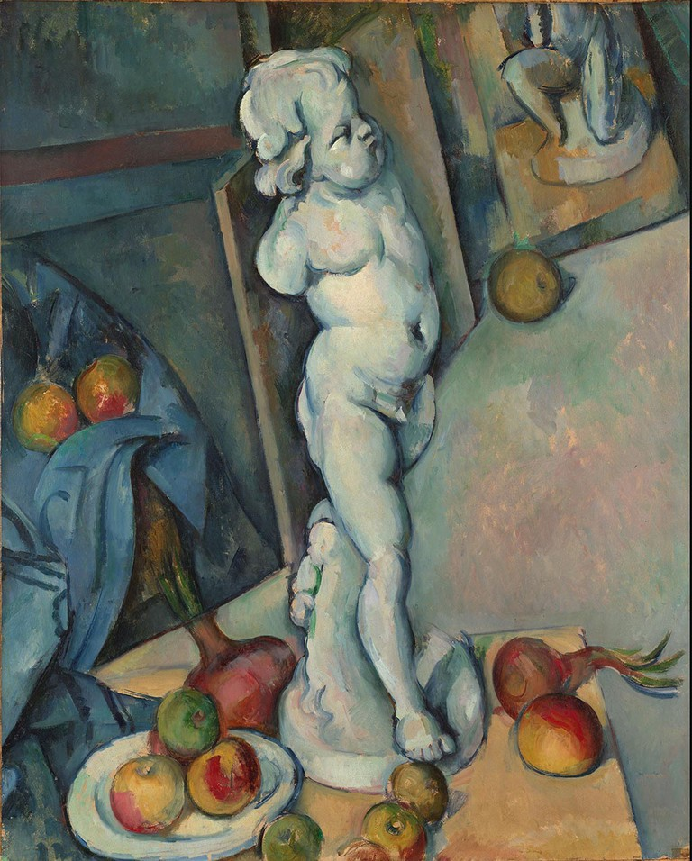 Paul Cézanne, Still life with Plaster Cupid, c1894 | © The Samuel Courtauld Trust