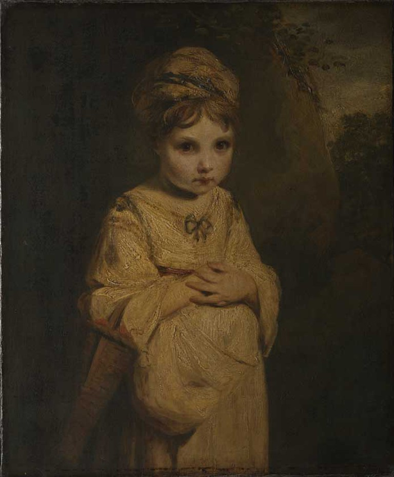The Strawberry Girl, Joshua Reynolds, 1777 | © The Wallace Collection