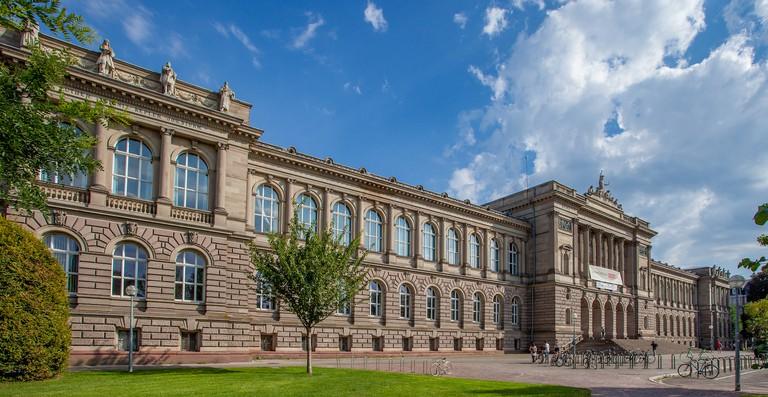 The imposing University of Strasbourg