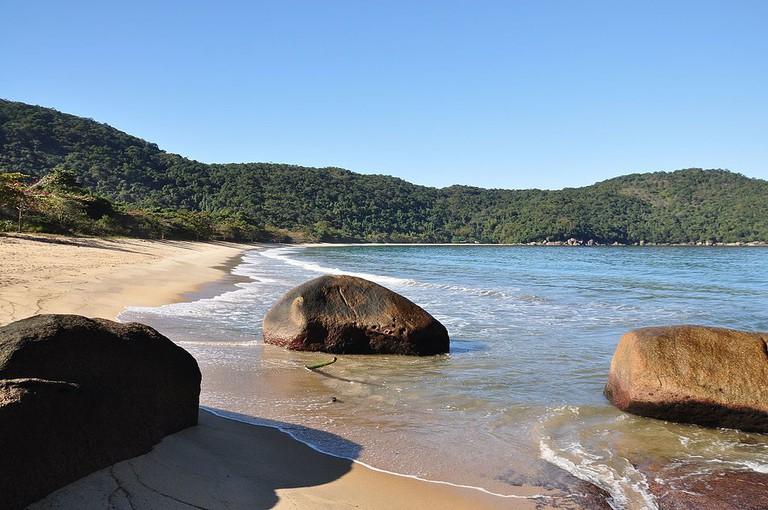 Parnaioca Beach |©TMbux/WikiCommons