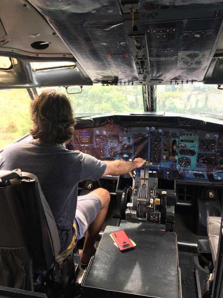 Patrons can take photos in the cockpit   © Michael LoRé/Culture Trip