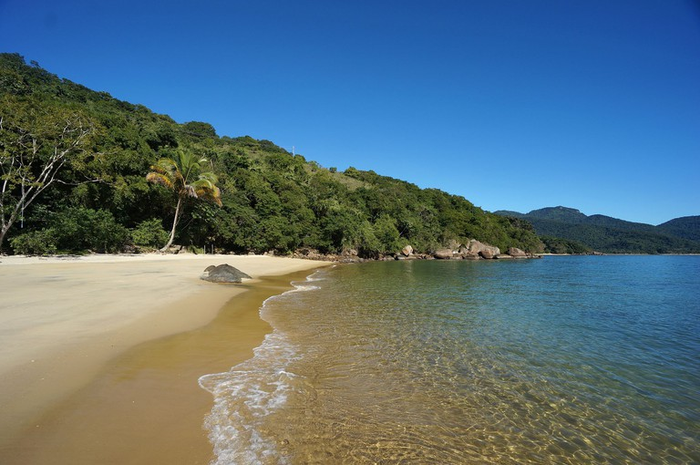 The beaches in Ilha Grande |©Nathan Chor/WikiCommons