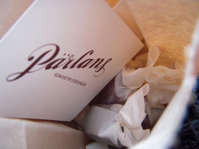Old-fashioned caramels from Pärlans