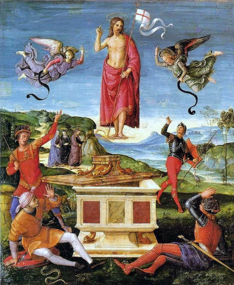 The Resurrection of Christ, Raphael