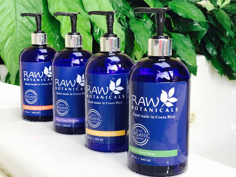 Raw Botanicals' divine organic beauty products