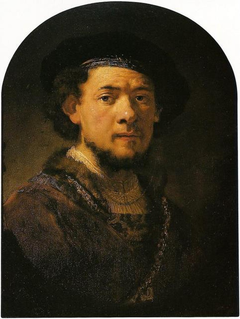 Portrait of a Young Man with a Gold Chain, Rembrandt van Rijn