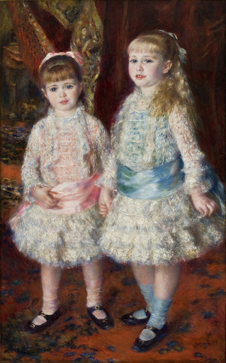 Pink and Blue – The Cahen d'Anvers Girls, Pierre-Auguste Renoir