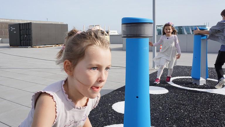 Interactive rooftop