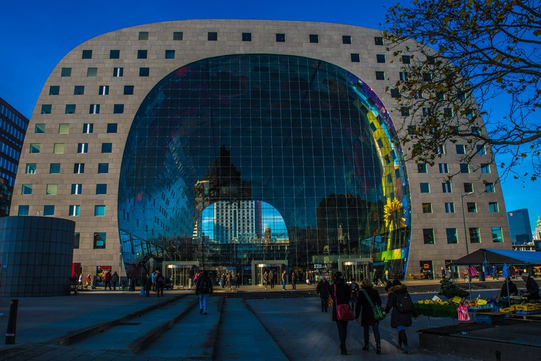 Rotterdam's Markthal is an architectural masterpiece