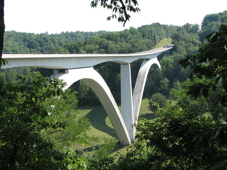 Natchez Trace Parkway in Franklin, TN