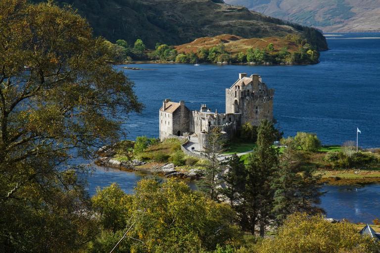 Eilean Donan and Scottish Highland Scenery