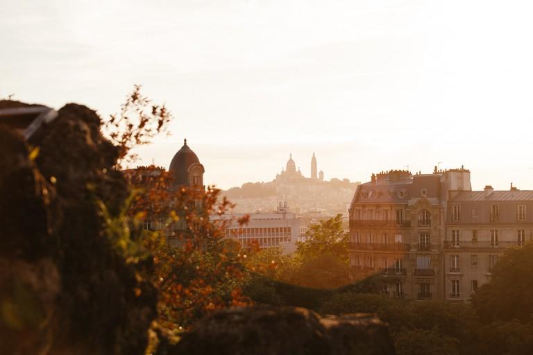 Sacré-Coeur as seen from Parc des Buttes Chaumont │© Kim Grant for Culture Trip