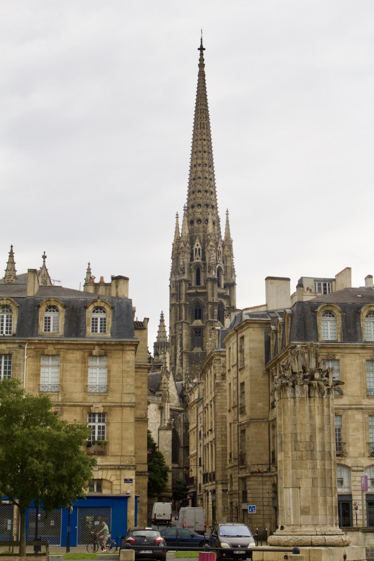 Saint Michel Basilic in the historical part of the city/