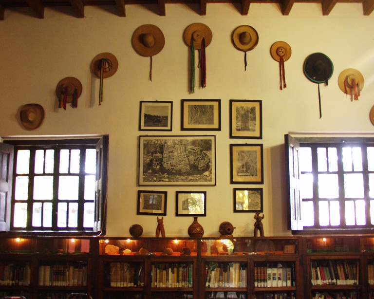 The private library of Frans and Trudi Blom in Chiapas