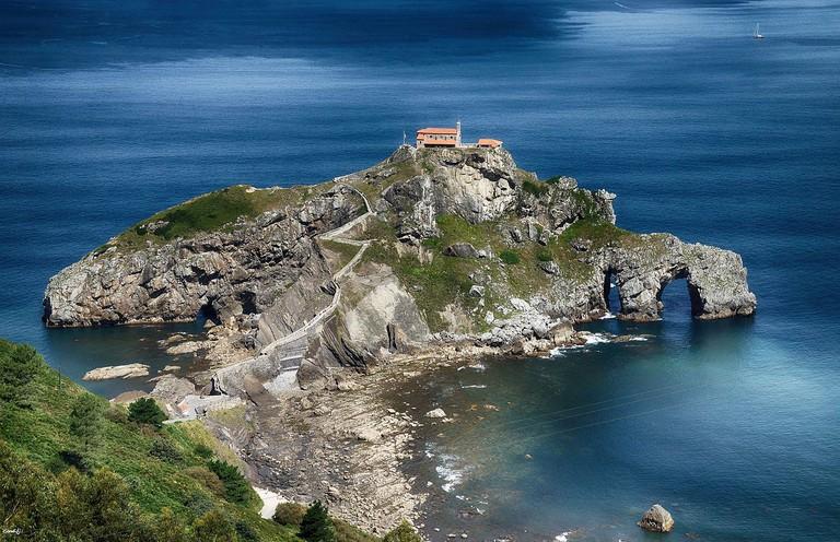 San Juan de Gaztelugatxe, Basque Country | ©candi... / Wikimedia Commons