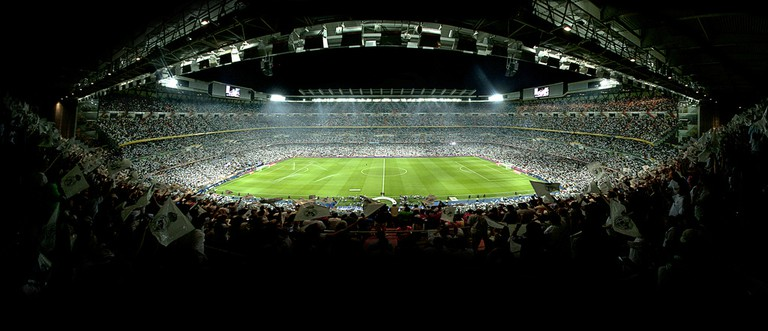 Watch Real Madrid play in the Santiago Bernabéu