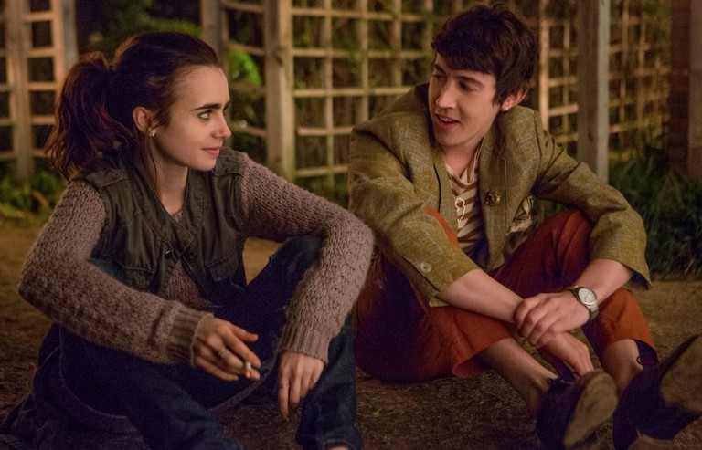 Hazarding love: Lily Collins and Luke Sharp in To the Bone